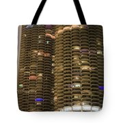 Marina Towers Tote Bag