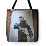 Marine Dress Tote Bag