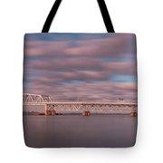 Marine Parkway Bridge Tote Bag