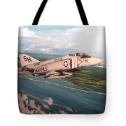 Marine Phantom Tote Bag