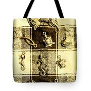 Marine Theme Tote Bag