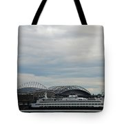 Mariners Seahawks And Ferry Tote Bag