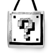 Mario Block Tote Bag