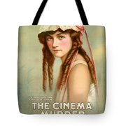 Marion Davies In The Cinema Murder 1919 Tote Bag