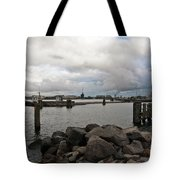 Maritime Cloud Drama Tote Bag by Silva Wischeropp