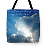 Mark 13 26 Tote Bag