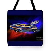 Mark Donohue And George Follmer Porsche Tote Bag