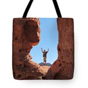 Mark In Valley Tote Bag