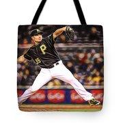 Mark Melancon Baseball Tote Bag