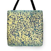 Mark My Rhythm Tote Bag