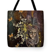 Mask Of The Wind Tote Bag
