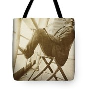 Mark Twain Tote Bag by Photo Researchers