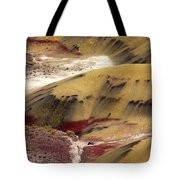 Marked Hills Tote Bag