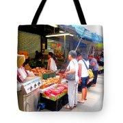 Market At Bensonhurst Brooklyn Ny 1 Tote Bag