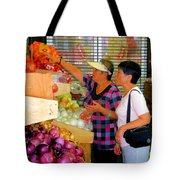 Market At Bensonhurst Brooklyn Ny 2 Tote Bag