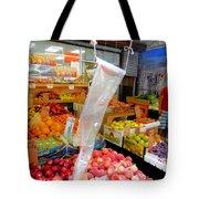 Market At Bensonhurst Brooklyn Ny 3 Tote Bag