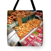 Market At Bensonhurst Brooklyn Ny 4 Tote Bag