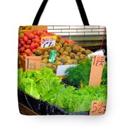Market At Bensonhurst Brooklyn Ny 5 Tote Bag