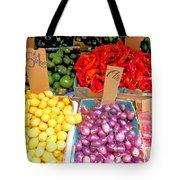 Market At Bensonhurst Brooklyn Ny 6 Tote Bag