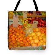 Market At Bensonhurst Brooklyn Ny 7 Tote Bag