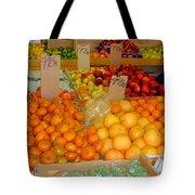 Market At Bensonhurst Brooklyn Ny 9 Tote Bag