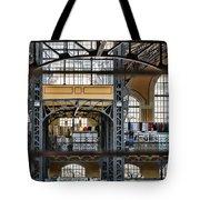 Market Bars And Windows Tote Bag