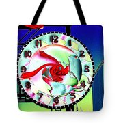 Market Clock 2 Tote Bag