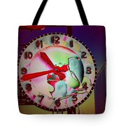 Market Clock 3 Tote Bag