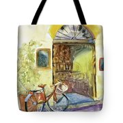 Market Day In Lucca Tote Bag