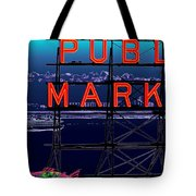 Market Ferry Tote Bag