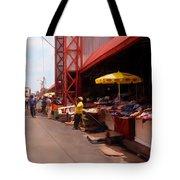 Market Georgetown Guyana Tote Bag