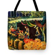 Market In Provence Tote Bag