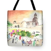 Market In Teguise In Lanzarote 02 Tote Bag