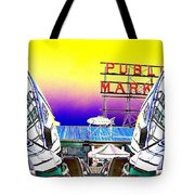 Market Reflect Tote Bag