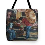 Market Scene Divisoria Tote Bag