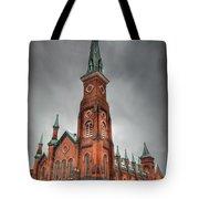 Market Square Presbyterian Tote Bag