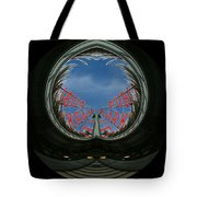 Market Through The Looking Glass Tote Bag