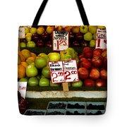 Marketplace Fruit Tote Bag