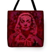 Marlene In Red  Tote Bag