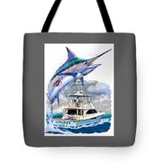 Marlin Commission  Tote Bag