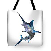 Marlin Profile Tote Bag