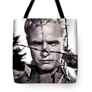 Marlon Brando As Lt. Diestl Publicity Photo The Young Lions 1958 Color Added 2016 Tote Bag
