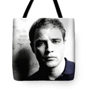 Marlon Brando Portrait #1 Tote Bag