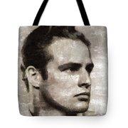 Marlon Brando, Vintage Actor Tote Bag