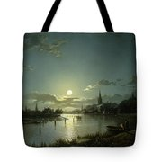 Marlow On Thames Tote Bag