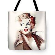 Marilyn Manroe Tote Bag