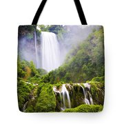 Marmore Waterfalls Italy Tote Bag