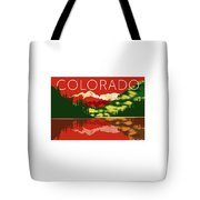 Maroon Bells Sunset Tote Bag by Sam Brennan