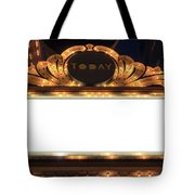 Marquee Lights Blank Sign Tote Bag