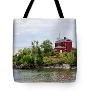 Marquette Harbor Lighthouse Tote Bag